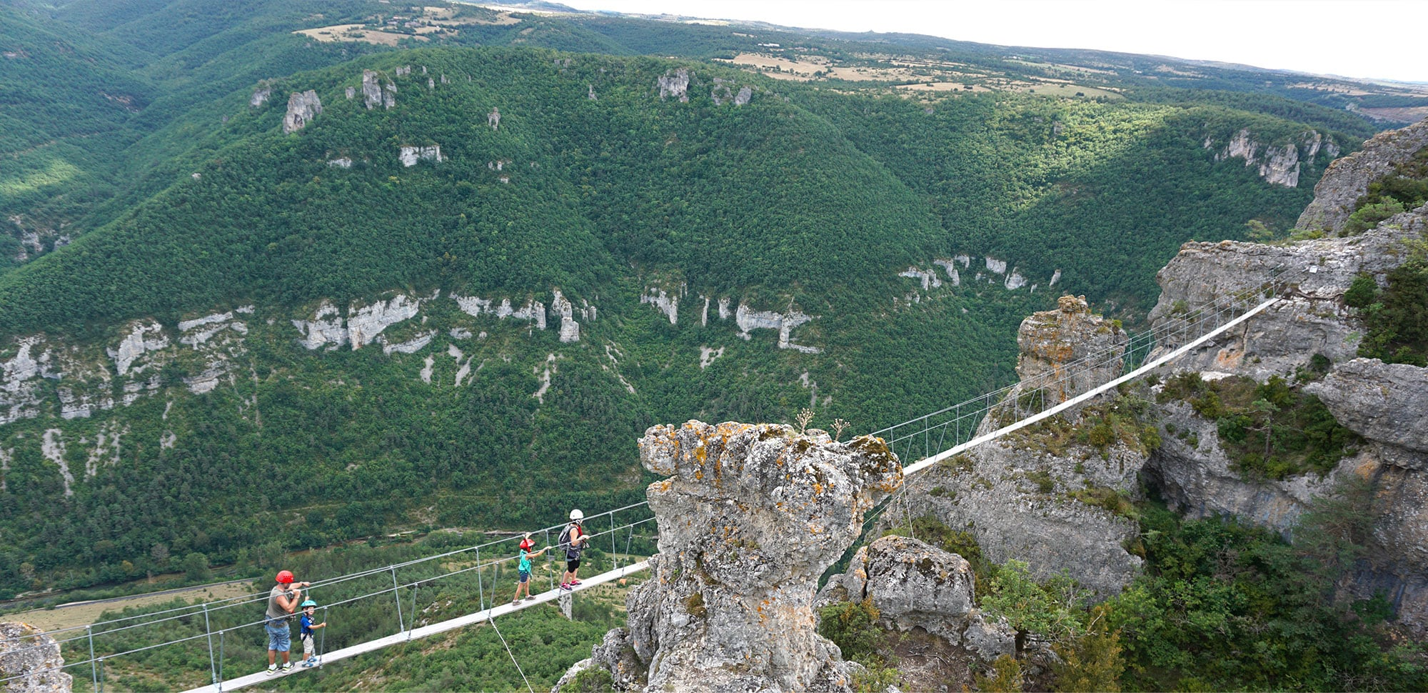 gite via ferrata aveyron